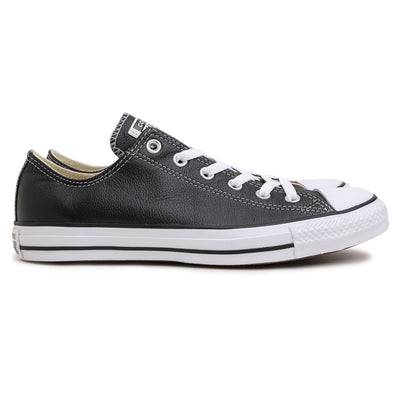 Converse Chuck Taylor Leather Ox | Black - CROSSOVER