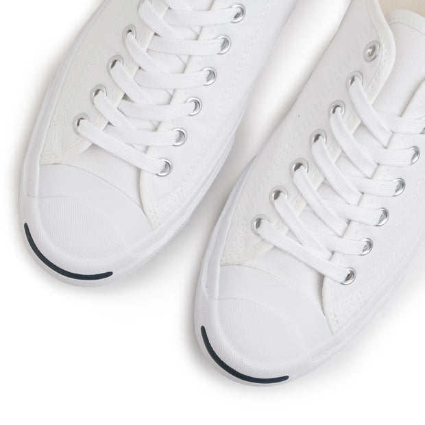 Converse Jack Purcell Low Top | White - CROSSOVER