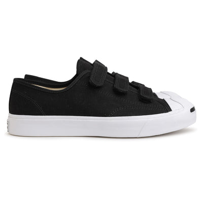 Converse Jack Purcell 3V | Black - CROSSOVER