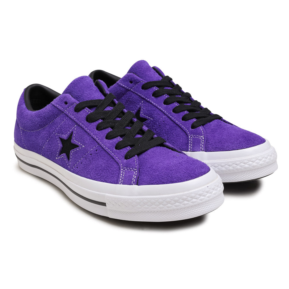 f07860511c Converse One Star Vintage Suede | Court Purple - CROSSOVER