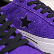 Converse One Star Vintage Suede | Court Purple - CROSSOVER