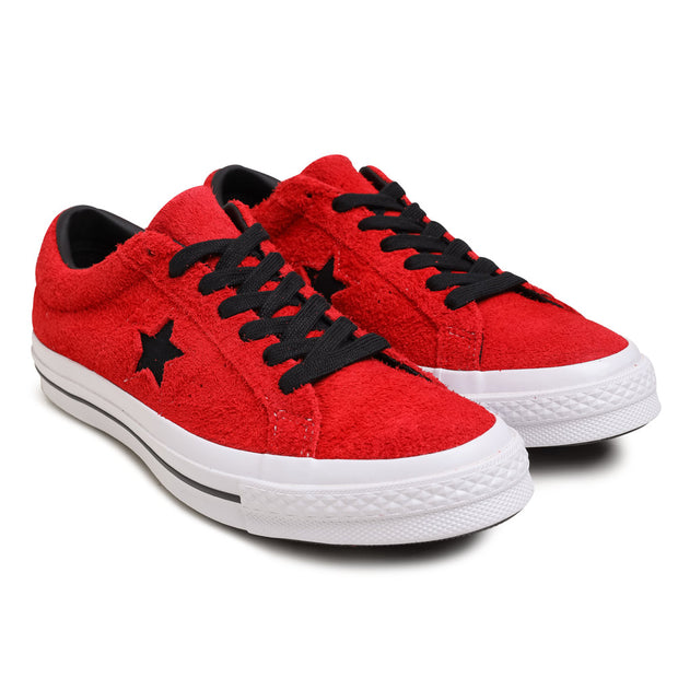 Converse One Star Vintage Suede | Enamel Red - CROSSOVER