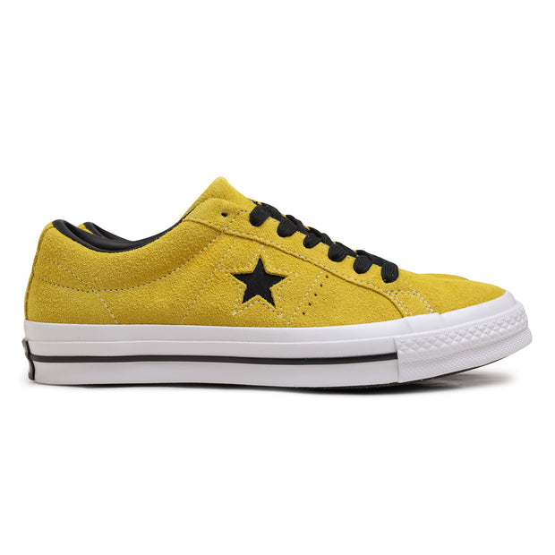Converse One Star Vintage Suede | Bold Citron - CROSSOVER