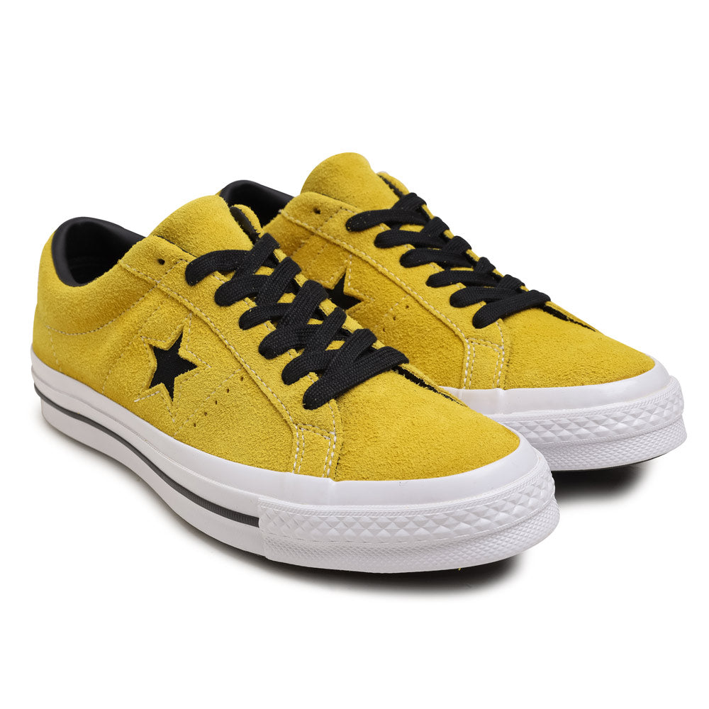 1bf63c748e Converse One Star Vintage Suede | Bold Citron - CROSSOVER