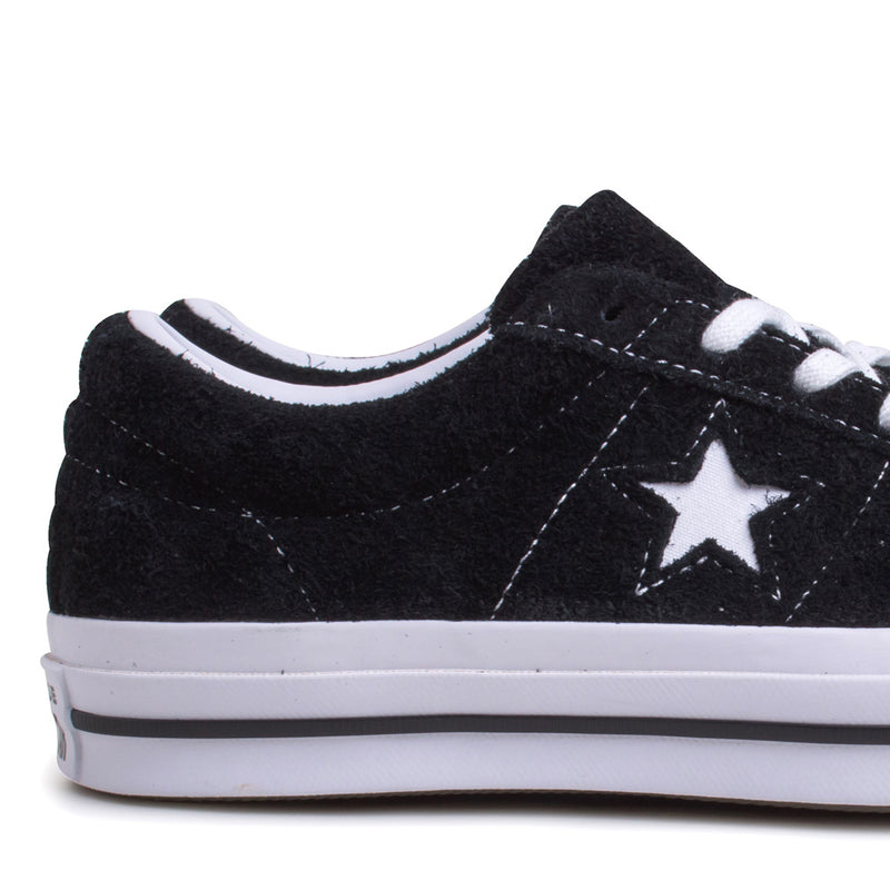 Converse One Star Premium Suede | Black - CROSSOVER
