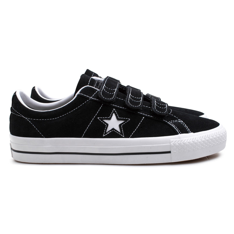 Converse One Star Pro 3V | Black - CROSSOVER