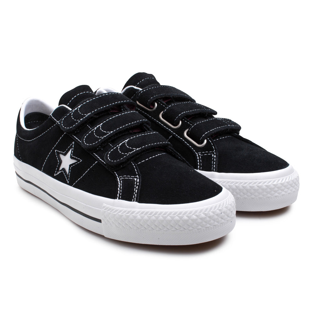 Converse One Star Pro 3V | Black - CROSSOVER ONLINE