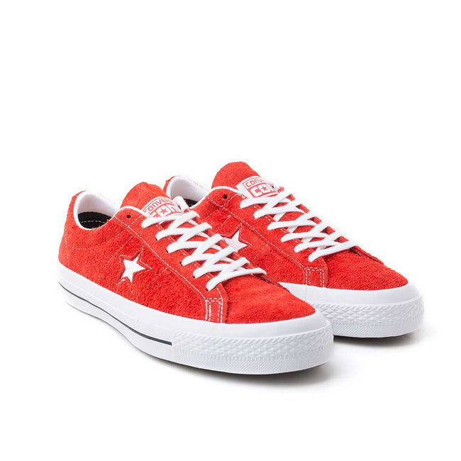 Converse CONS One Star Hairy Suede | Red