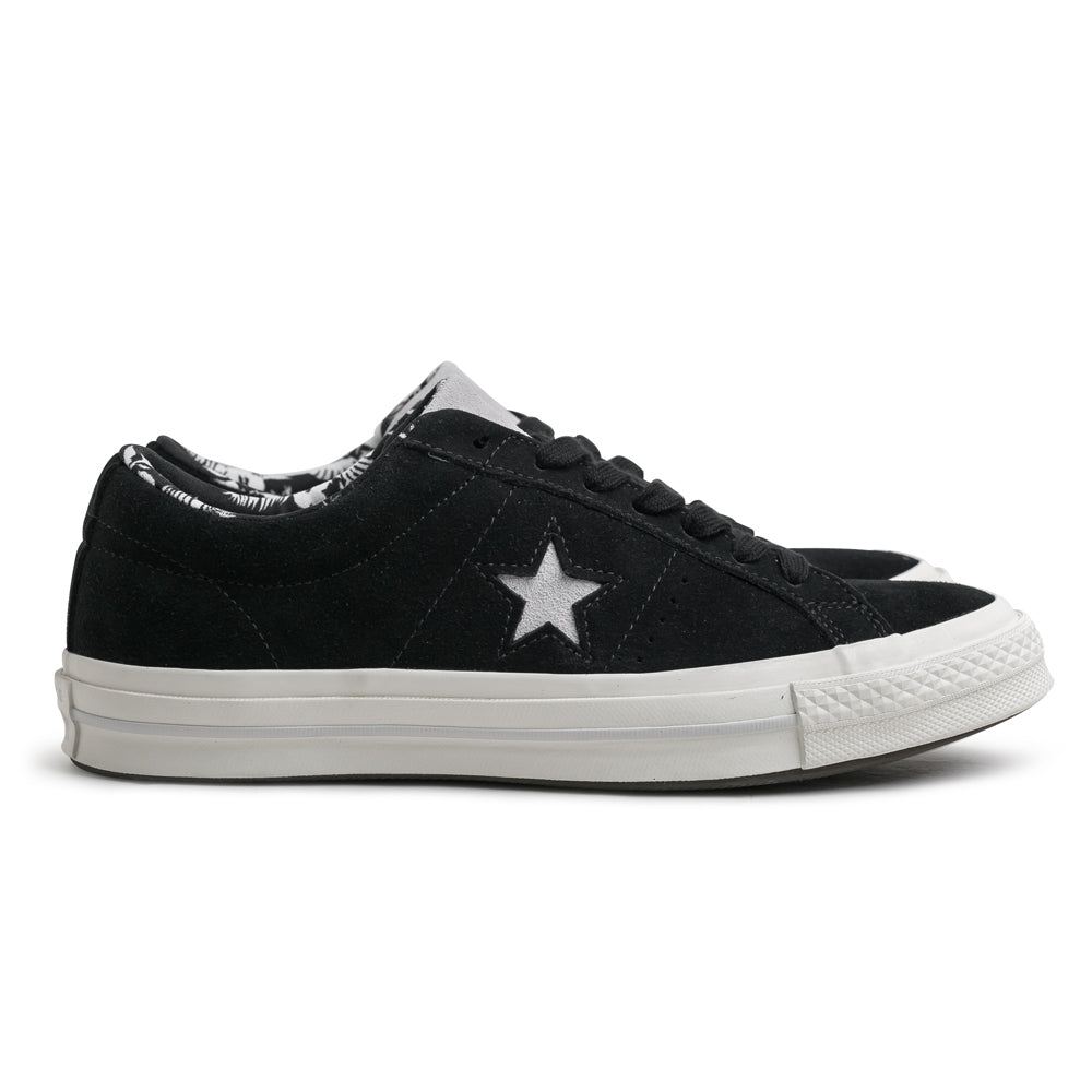 Converse One Star Tropical Feet Low | Black - CROSSOVER ONLINE