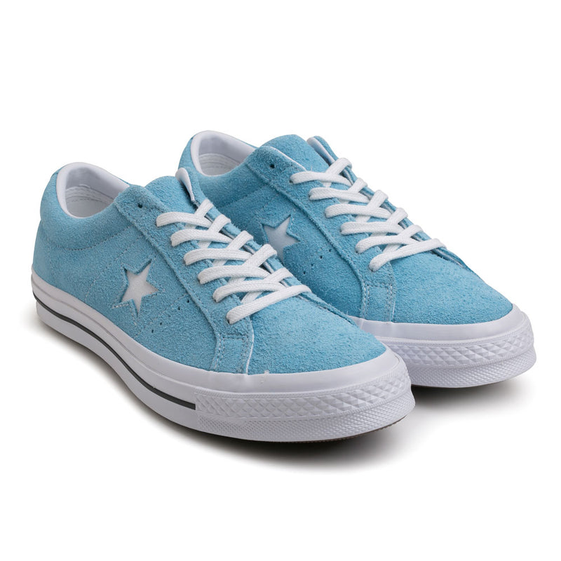 Converse One Star Vintage Suede | Shoreline Blue - CROSSOVER