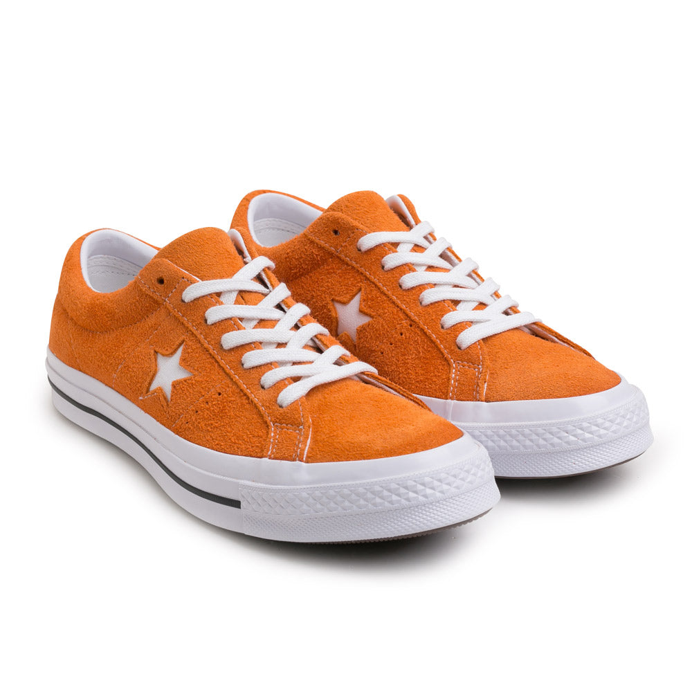 Converse One Star Vintage Suede | Bold Mandarin - CROSSOVER ONLINE