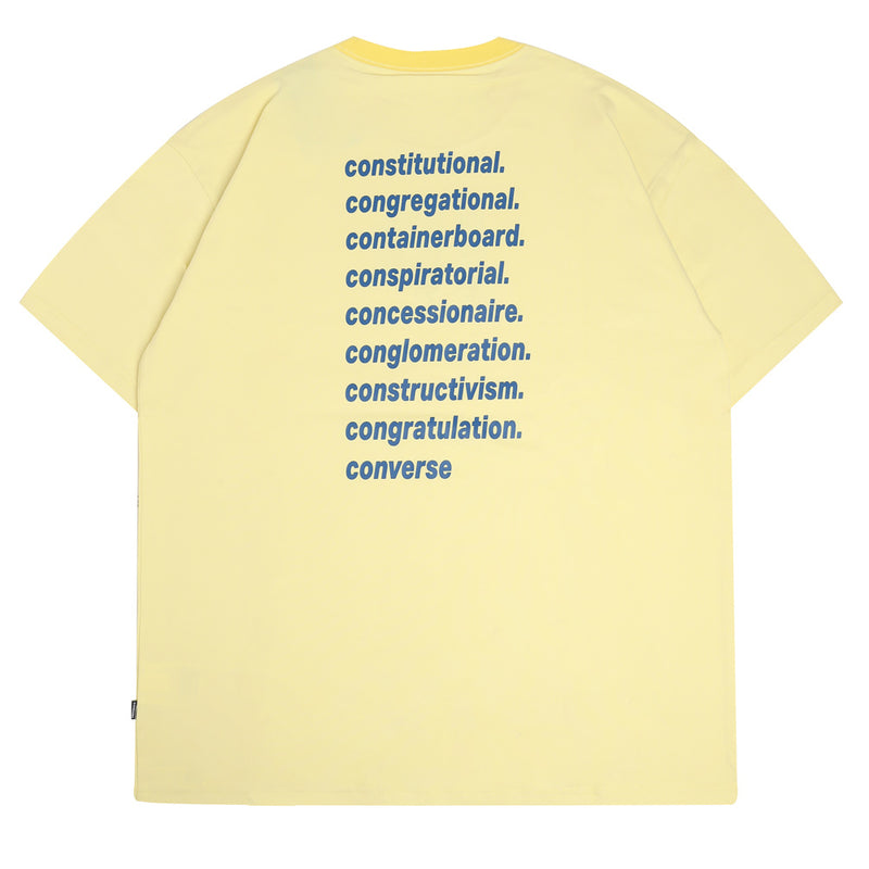 Converse Converse x ASAP Nast JP Tee | Yellow - CROSSOVER
