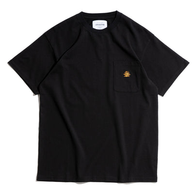 Signature SBVRT Pocket Tee | Black Orange