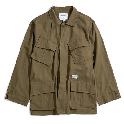 CrossoverBickle M65 Jacket | Olive - CROSSOVER