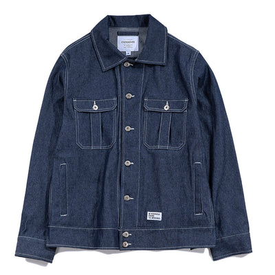 CrossoverFrank Denim Jacket | Blue - CROSSOVER