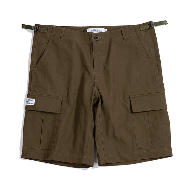 CrossoverMilitary Short | Olive - CROSSOVER