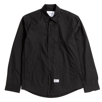 CrossoverTom Tech L/S Shirt | Black - CROSSOVER
