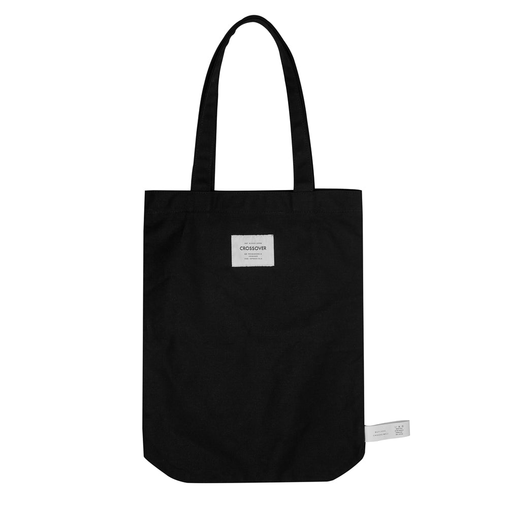 Crossover Chao's Tote Bag | Black - CROSSOVER