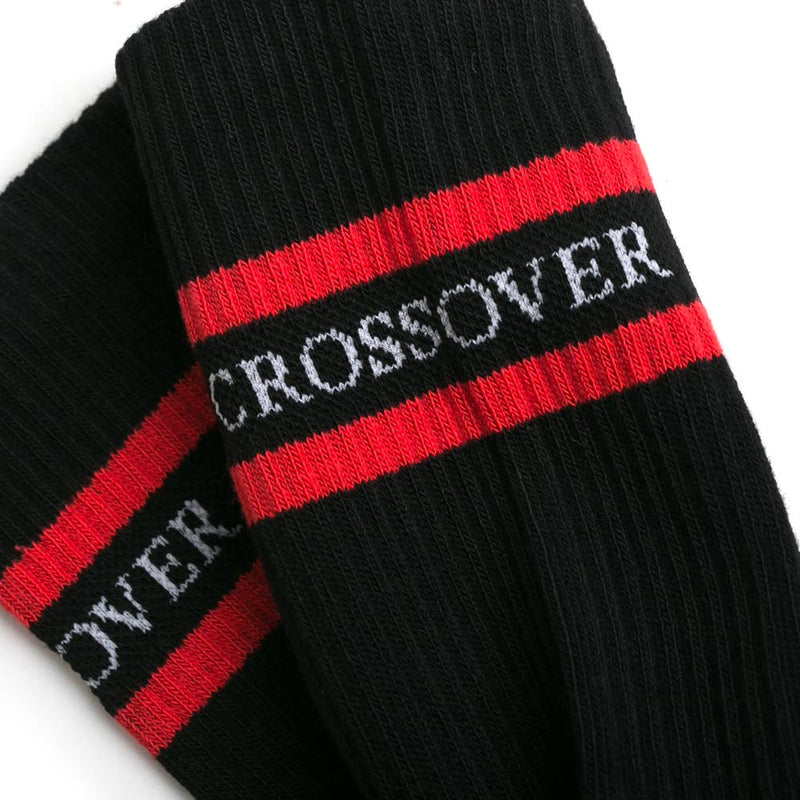CrossoverCushioned Sock | Black - CROSSOVER ONLINE