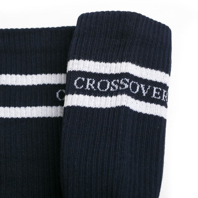 Crossover Cushioned Sock | Blue - CROSSOVER