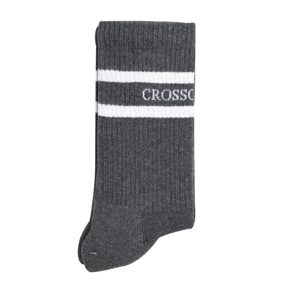 Crossover Cushioned Sock | Grey - CROSSOVER ONLINE