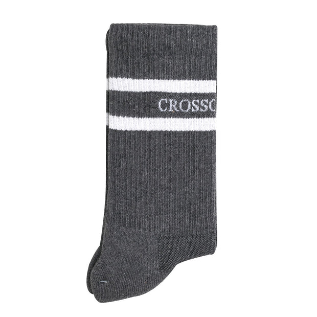 Crossover Cushioned Sock | Grey - CROSSOVER