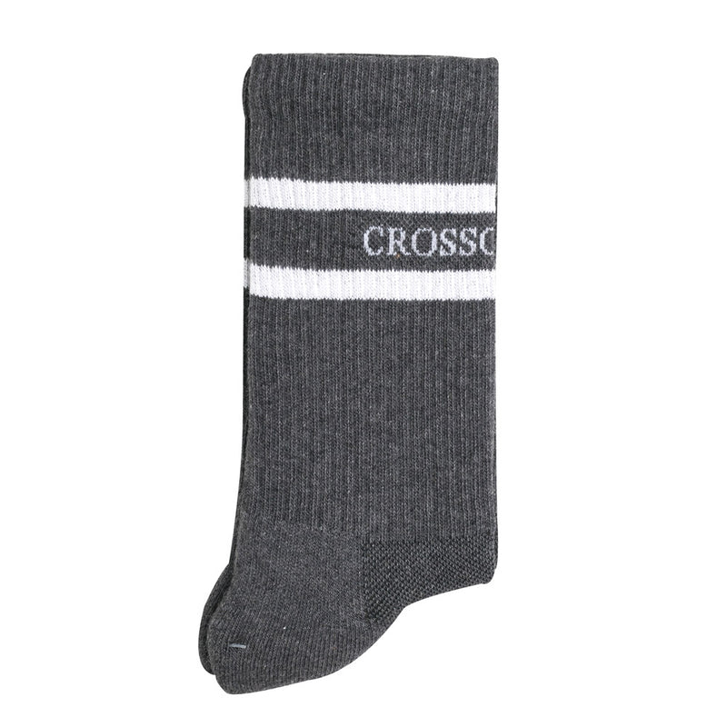 CrossoverCushioned Sock | Grey - CROSSOVER ONLINE