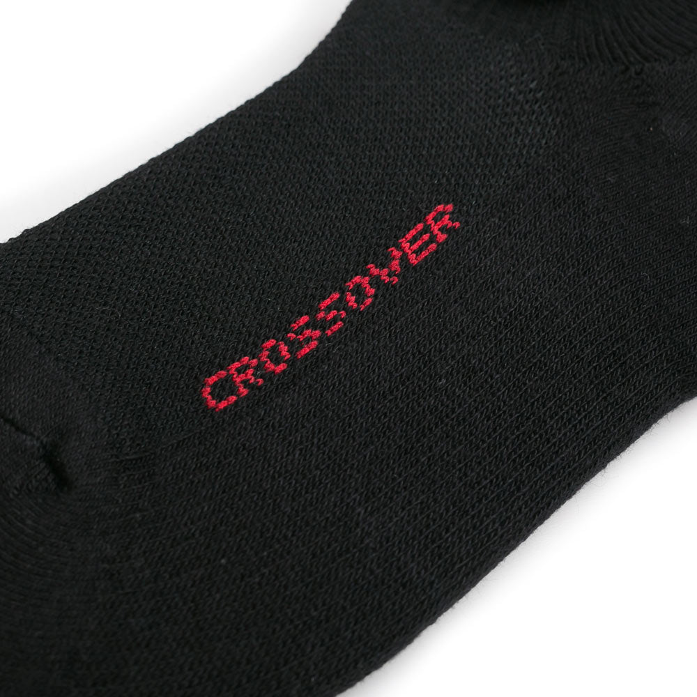 Crossover Invisible Sock | Black - CROSSOVER