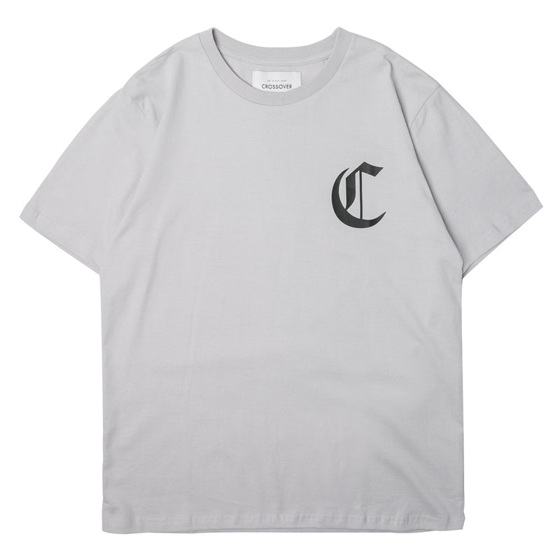 Crossover League Tee | Grey - CROSSOVER ONLINE