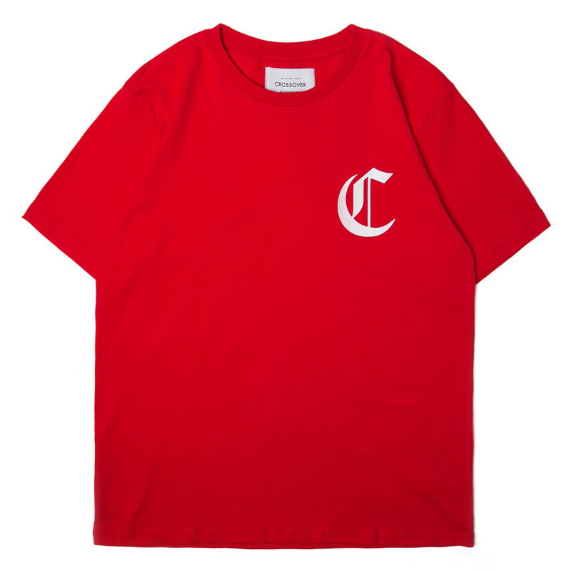 Crossover League Tee | Red - CROSSOVER