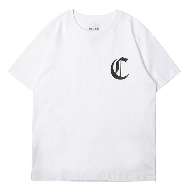 League Tee | White