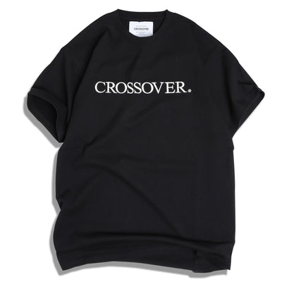 Crossover Signature Tee | Black White - CROSSOVER