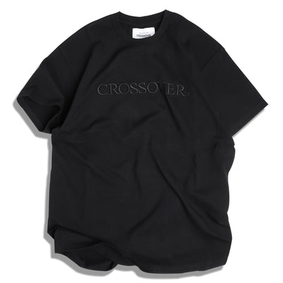 CrossoverSignature Tee | Black Black - CROSSOVER