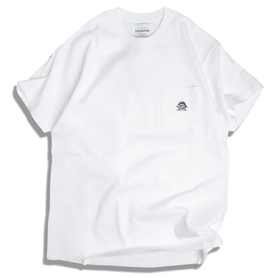 Crossover Signature SBVRT Pocket Tee | White - CROSSOVER