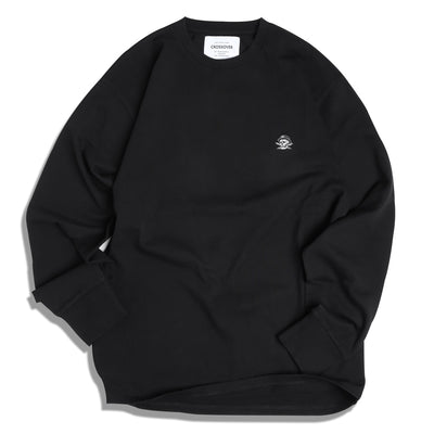 Crossover Signature L/S Tee | Black - CROSSOVER