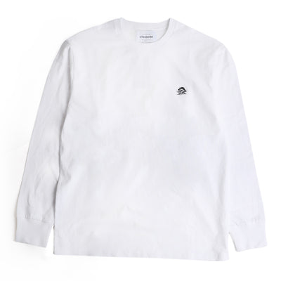 Crossover Signature L/S Tee | White - CROSSOVER