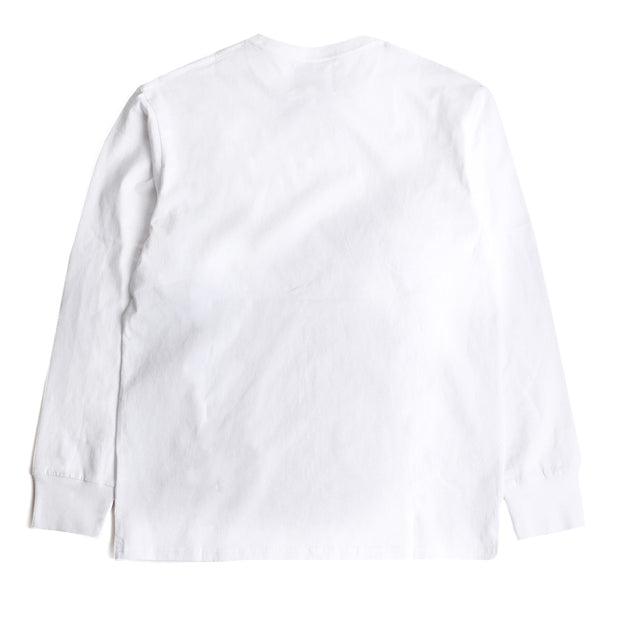 CrossoverSignature L/S Tee | White - CROSSOVER