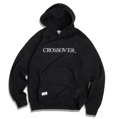 CrossoverSignature Pullover Hoodies | Black - CROSSOVER