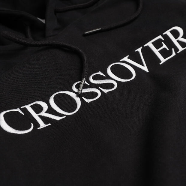 Crossover Signature Pullover Hoodies | Black - CROSSOVER