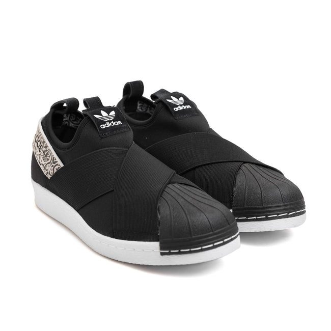 Women's Superstar Slip On | Black