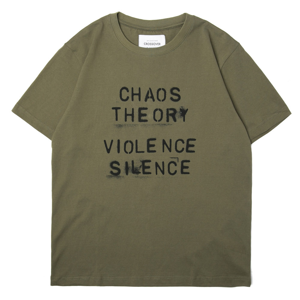 Crossover Chaos Theory Tee | Olive - CROSSOVER ONLINE
