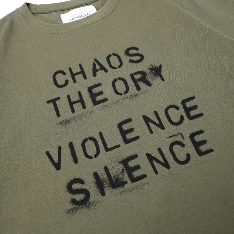 Crossover Chaos Theory Tee | Olive - CROSSOVER