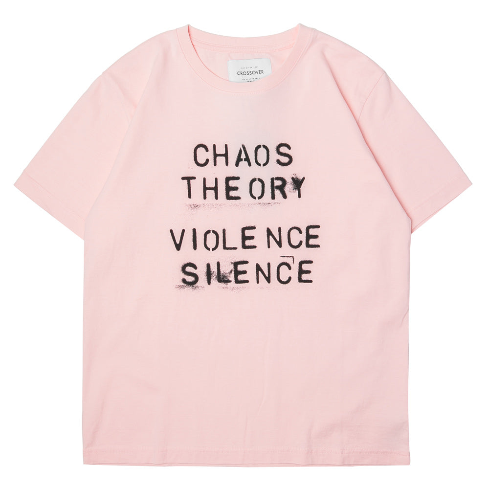 Crossover Chaos Theory Tee | Pink - CROSSOVER ONLINE