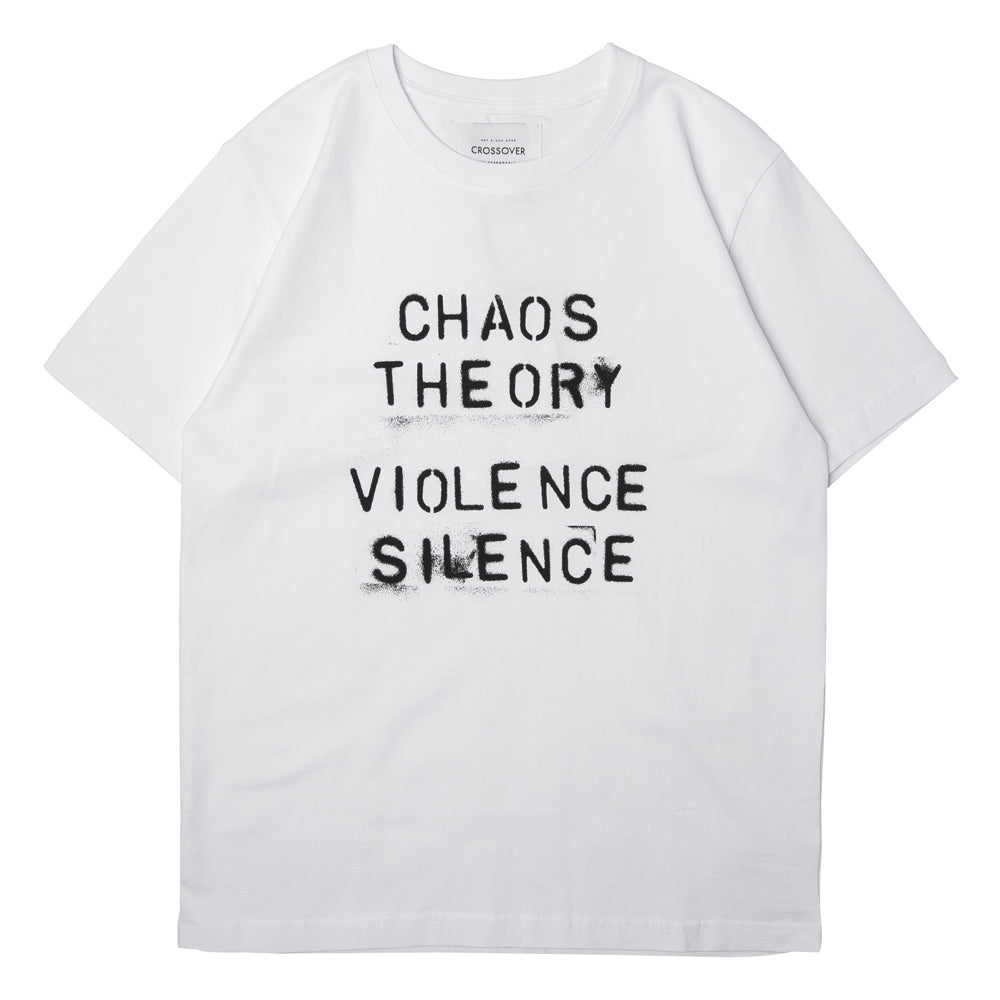 Crossover Chaos Theory Tee | White - CROSSOVER ONLINE