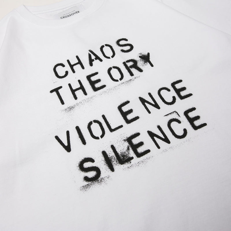 Crossover Chaos Theory Tee | White - CROSSOVER