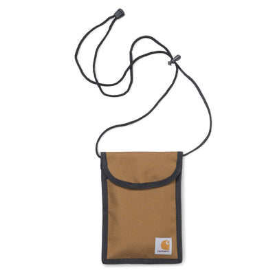 Carhartt WIP Collins Neck Pouch | Hamilton Brown - CROSSOVER