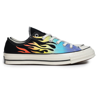 Converse Chuck 1970s Archive Print Low Top | Black - CROSSOVER