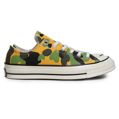 Converse Chuck 1970s Archive Print Low Top | University Gold - CROSSOVER