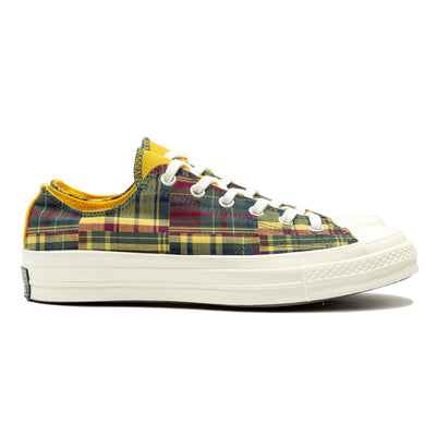 Chuck 70 Twisted Prep Woven Low | Yellow
