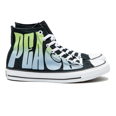 Chuck Taylor All Star Peace Powered Hi | Black